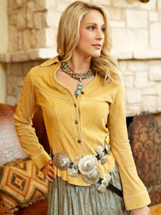 Southwest  Style Fashion. Concho Belts. Turquoise Jewelry.   http://www.rawhideranchco.com/