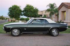1969 CHEVROLET CAMARO SS CONVERTIBLE - Barrett-Jackson Auction Company - World's Greatest Collector Car Auctions