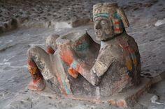 Chac-mool en el Templo Mayor de Tenochtitlan, México D.F., México Aztec Art, Inca, Ap Art, Ancient Aliens, Art And Architecture, Art History, Northern California, Civilization, Carlos Castaneda