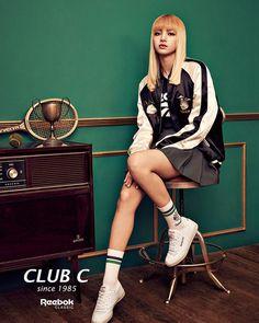 161111 reebokclassickorea instagram update : Club C Exclusive #LISA