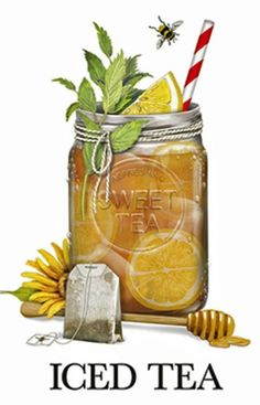 Iced Tea (Mary Lake Thompson)