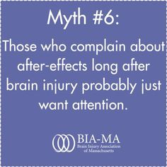 Brain injury myth debunked