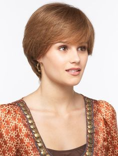 Top Monofilament Straight Short Synthetic Wigs, Synthetic Mens Wig