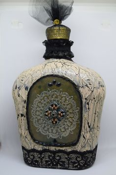 Upcycled Crown Bottle