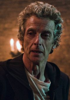 """I did a sort of hoodie period, a sort of Doctor Hoodie thing I did which I thought would look really mysterious and strange, and just looked sad. It just looked like your dad's trying to be trendy."" Peter Capaldi, on picking his outfit for the Doctor."
