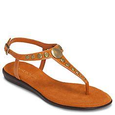 nice sleek flat sandal with details.... love...