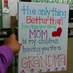Mothers day present for my mom