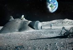 Are 3D Printers The Key To Humans Living On The Moon?