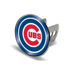 Chicago Cubs MLB Laser Cut Hitch Cover