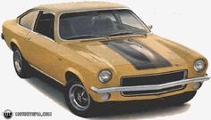 Photo of a 1972 Chevrolet Vega GT ('72 Vega)