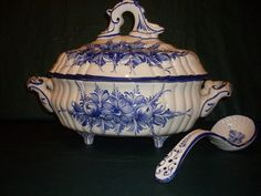 Soup Tureen Made in Portugal | eBay