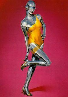 robot paintings by hajime sorayama Robot Painting, Cyborg Girl, Disney Paintings, Drawn Art, Robot Girl, Airbrush Art, Cyberpunk Art, Illustration, Retro Futurism