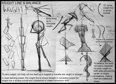 Weight line & Balance - Analytical Figure Drawing SP08