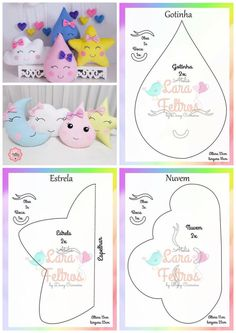 Best 12 Easy 20 sewing projects projects are offered on our web pages. Take a look and you wont be sorry you did – SkillOfKing. Baby Pillows, Kids Pillows, Felt Crafts Patterns, Sewing Patterns, Baby Sewing Projects, Sewing Pillows, Sewing Toys, Felt Dolls, Baby Crafts