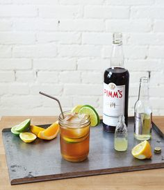 Make a classic Pimm's Cup with this recipe.