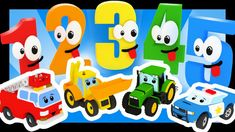 Les chiffres avec les voitures et les camions - Titounis French Numbers, Nintendo 64, Singing, Learning, Logos, Nursery Rhymes, Cars, A Logo, Education