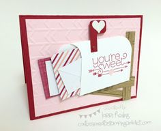 FREE Tutorial for February Orders! :: Confessions of a Stamping Addict Lorri Heiling Valentine Mailbox Card
