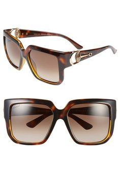 07bb2769198 Gucci  Diamantissima  56mm Sunglasses