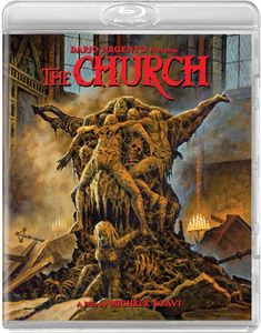 A young Asia Argento stars in one of her first performances. Dario Argento presents the insane, gory horror epic THE CHURCH on Special Ultimate Edition Blu-Ray! Horror Movie Posters, Movie Poster Art, Arte Horror, Horror Art, Dario Argento, Sci Fi Horror Movies, Best Horrors, Pulp Art, Good Movies