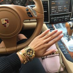On the arm of a Jetset Babe, jewellery & watch!   JetsetBabe