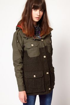 Hair! Coat! (Chic Anoraks And Stylish Women's Parkas For Winter 2012)