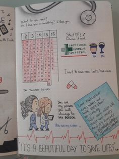Grey's Anatomy, Greys Anatomy Book, Greys Anatomy Derek, Grey Anatomy Quotes, Bullet Journal Notebook, Bullet Journal Ideas Pages, Book Journal, Tumbler Drawings, Doodle Pages