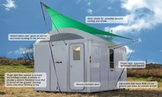 Ikea solar powered shelter can last 10 times longer than a refugee tent and could cost $1000 in mass production