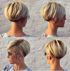 17 x Beautiful Short hairstyles! - Lyhyt Kampaus!