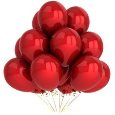 balloon red.