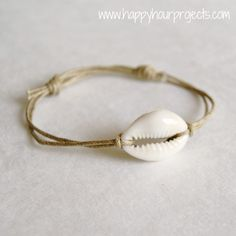 Happy Hour Projects: Basic Sliding Knot Bracelet