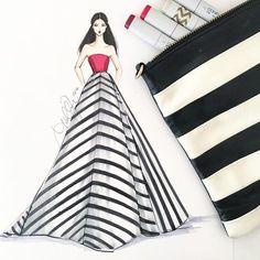 New Fashion Design Sketches Dresses Zuhair Murad Ideas Dress Design Sketches, Fashion Design Sketchbook, Fashion Design Portfolio, Fashion Design Drawings, Fashion Sketches, Fashion Design Illustrations, Croquis Fashion, Fashion Drawing Dresses, Fashion Illustration Dresses