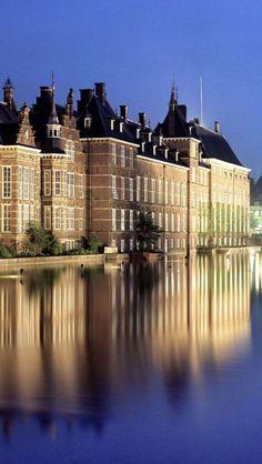 La Haya estima que la sede del gobierno holandés y el parlamento. El parlamento holandés, La Haya, Países Bajos