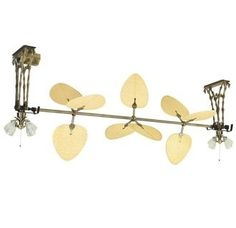 Fanimation Palmetto I Tropical / Safari Specialty Fan from the Palmetto One Section Collection