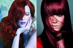 Red Hair Color Ideas for Women  #haircolors #hairstyles #redhair