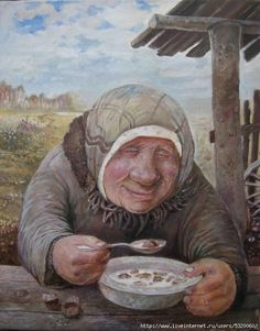 Painter Artist, Artist Painting, Naive Art, Wassily Kandinsky, Russian Art, Funny Clips, Romantic Couples, Real People, Old Women