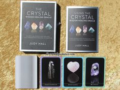 Crystal Wisdom Healing Oracle by Judy Hall — Deck review by Crystal Guidance  http://www.crystalguidance.com/decks/crystalwisdomhealingoracle.html