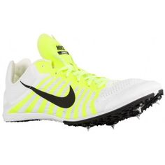 f42d60cd0f353 Nike Zoom D - Men s - Track - Field - Shoes - White Volt Black-sku 19164107