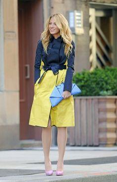 gossip girl fashion style