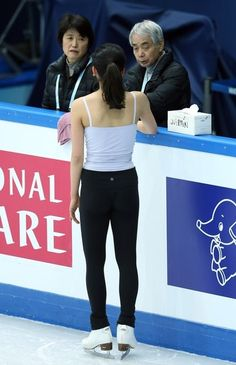 SOCHI, RUSSIA - DECEMBER 06:  Mao Asada of Japan in a training session during the Grand Prix of Figure Skating Final 2012 at the Iceberg Skating Palace on December 6, 2012 in Sochi, Russia.