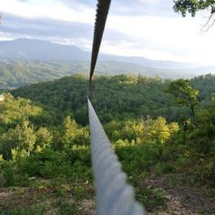 Zip through amazing Smoky Mountain views at Adventure Zip Lines of Pigeon Forge. I want to do this the next time we're in the Smoky Mountains!