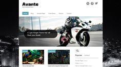 Avante is a free WordPress Theme by BlogOhBlog.