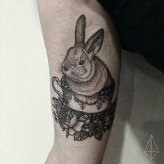 Bunny in a teacup