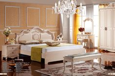 Item No.:602A#Bed headboard(W1.8m)+A#Bed footboard(W1.8m),606B#4-Door wardrobe with 6M02#Door, 606D#Dresser, 6ZJ01#Mirror,6ZD01#Stool,606C#Night table,6H01#Cheval glass.Material:Medium Density Fibre board.Details:5 layer standard exporting master carton;extra packing patterns are provided as per customers' request.Payment Terms:T/T only.If you want to buy it,please email us at tophandvip@foxmail.com.