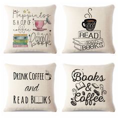 Summer Chair Decorative Watercolor Style Yarn Book Reading Sofa Decorative 45Cmx45Cm Square Sofa/Bed Printed Pillow Cover