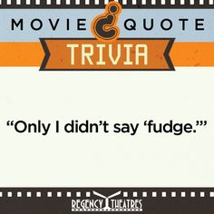 26 Best Movie Quote Trivia! images in 2014 | Film, Canning