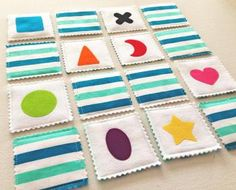 Two in One Fabric Game. #finleeandme #games