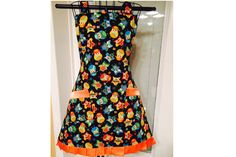 Smart Hoot Owl  Full Bib Apron by SpicyAprons on Etsy