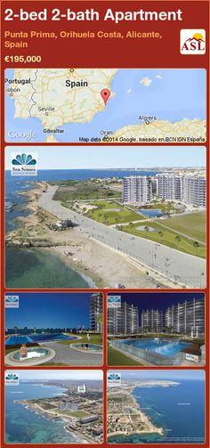 2-bed 2-bath Apartment in Punta Prima, Orihuela Costa, Alicante, Spain ►€195,000 #PropertyForSaleInSpain