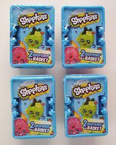 Shopkins Season 1 Shopping Basket - Set of 4 Baskets