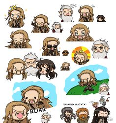 Fili just can't wait to be king...[sketches] by LadyCibia.deviantart.com on @DeviantArt
